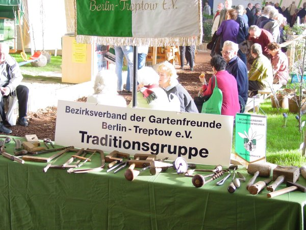 Traditionsstand des Bezirksverbandes
